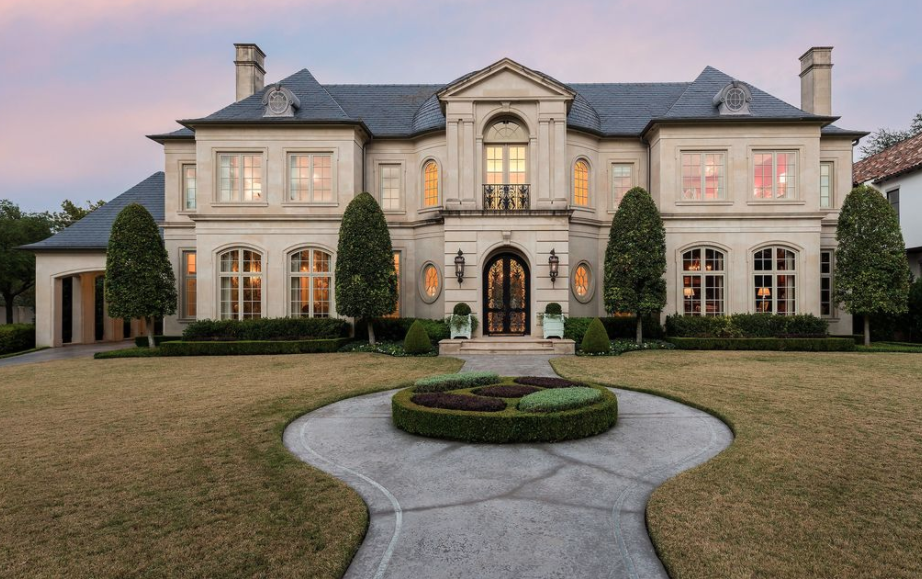 French style home in dallas texas homes of the rich for French style homes exterior