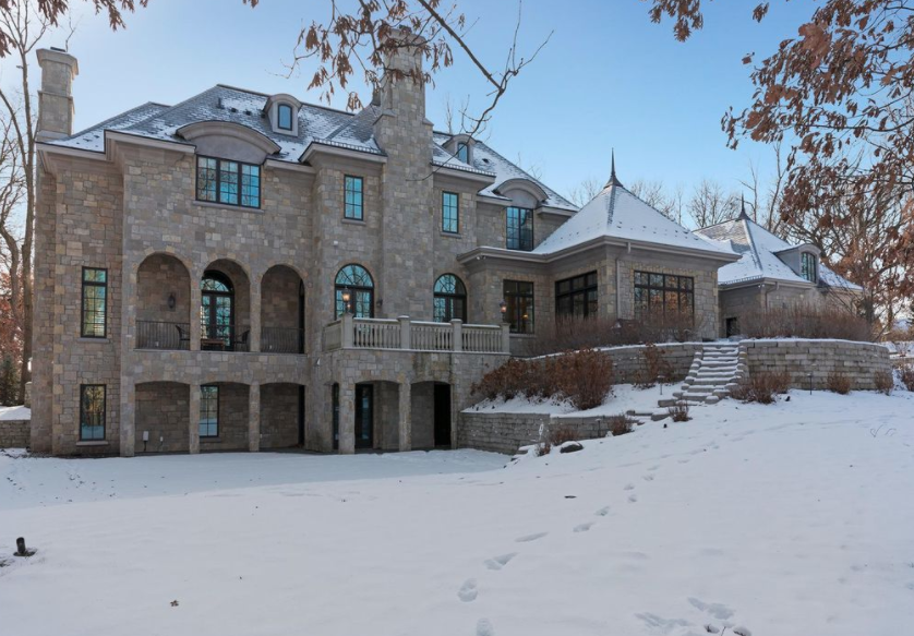 Foyer House St Paul : French style stone home in saint paul minnesota homes