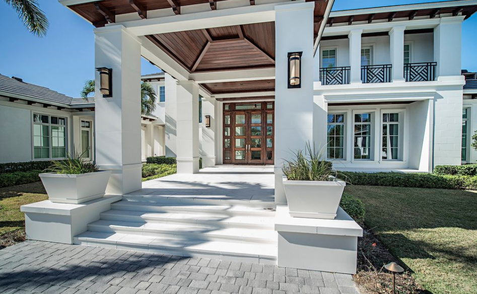 10 000 square foot home in naples florida homes of the rich for 10000 square foot house