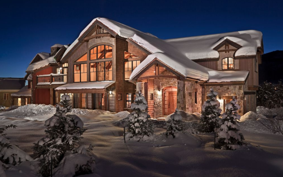 Wood Amp Stone Home In Steamboat Springs Colorado Homes