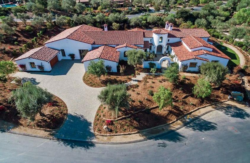 Newly Built Home In San Diego With Indoor Basketball Court Homes Of The Rich