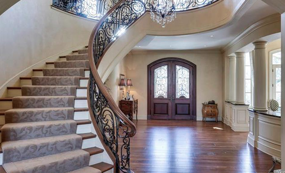 Home Saint Louis Foyer Unme : Square foot stone mansion in saint louis missouri