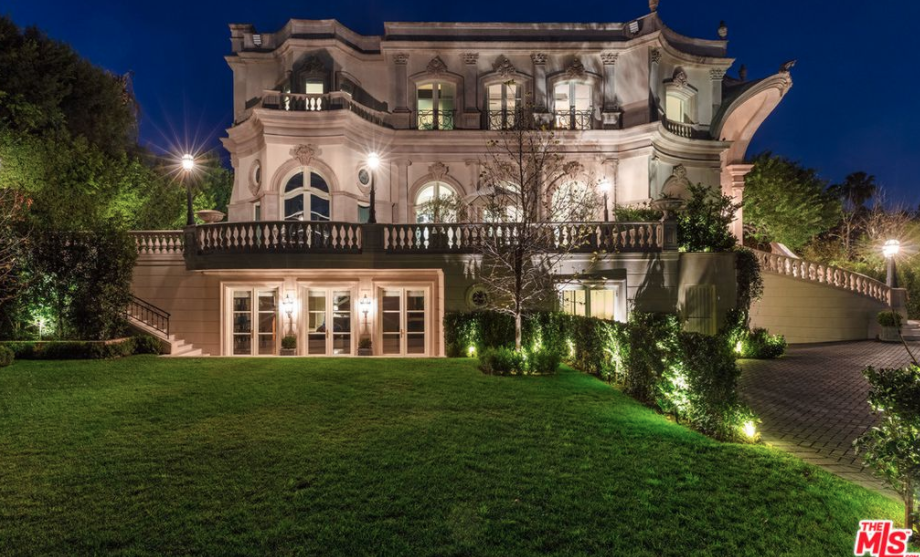 Million European Inspired Mansion Beverly Hills California Homes The Rich