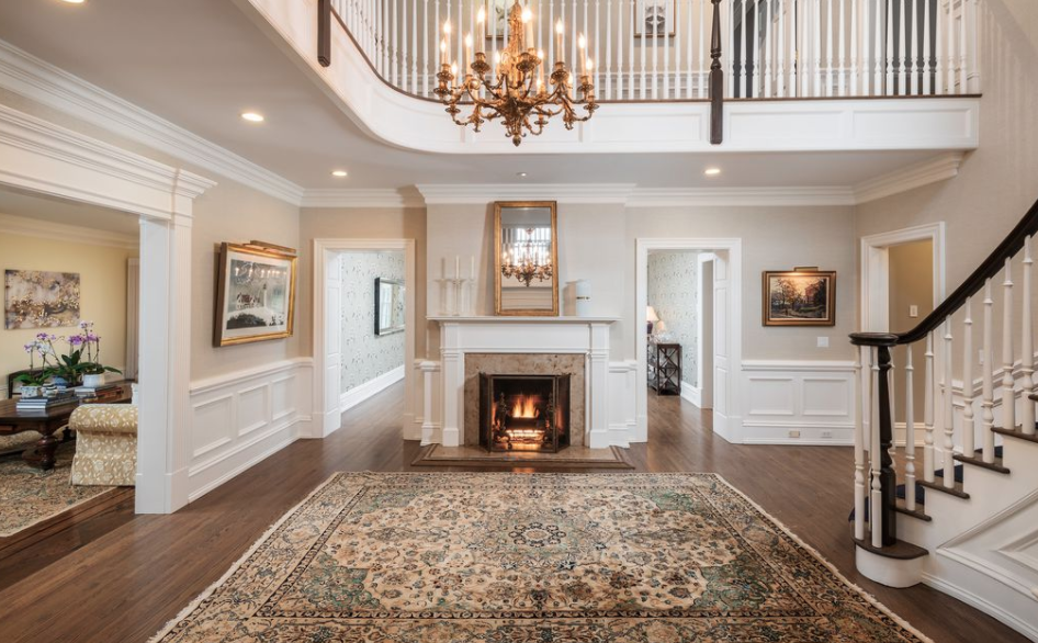 Georgian Colonial Style Mansion New Canaan Connecticut Homes The Rich