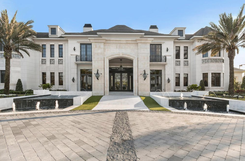 Amazing Newly Built Waterfront Mansion In Delray Beach
