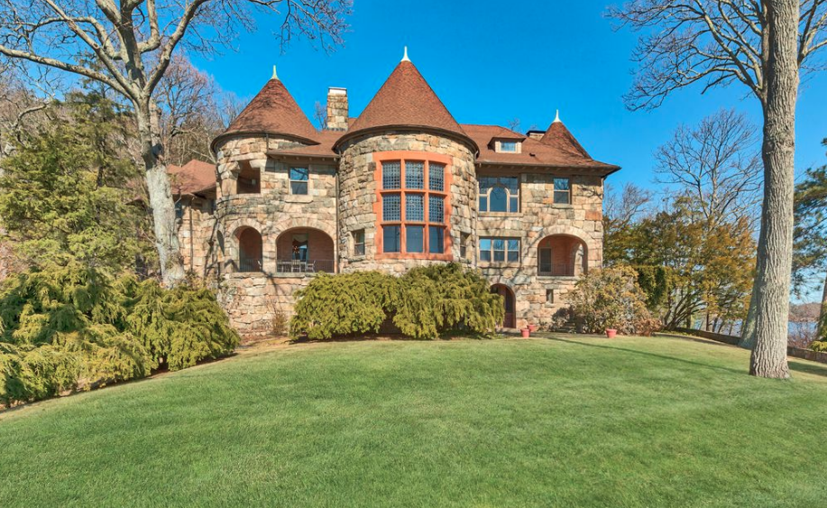 Historic Waterfront Stone Mansion In Tuxedo Park New York