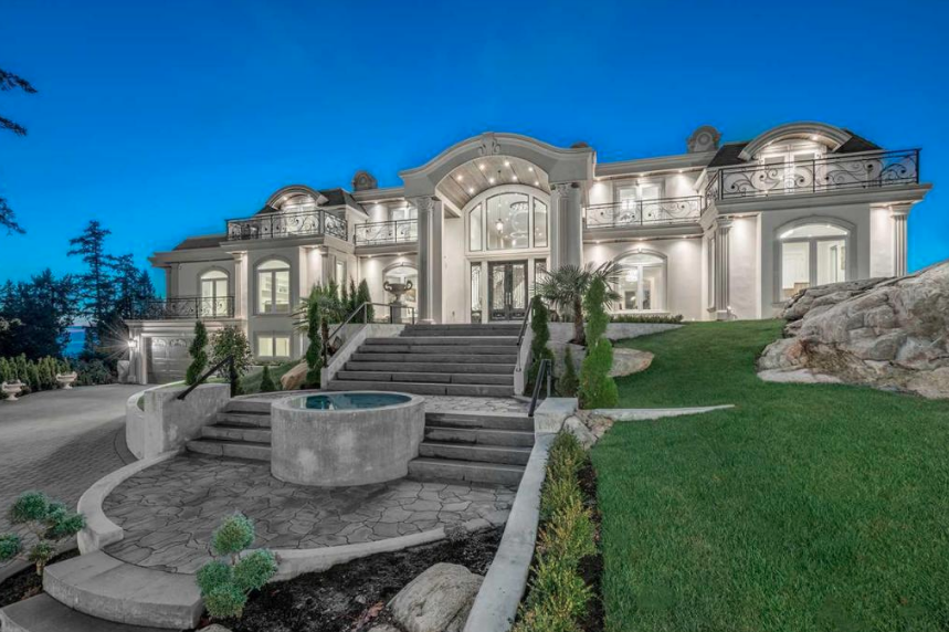 20 Million Newly Built Mansion In West Vancouver Canada
