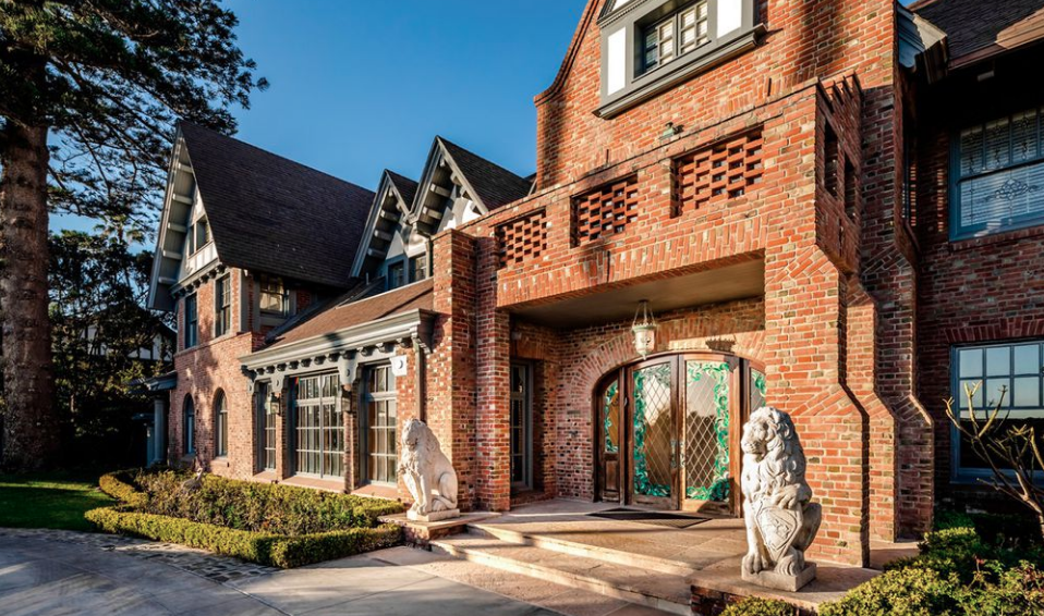 25 Million Historic Brick Mansion In Coronado California