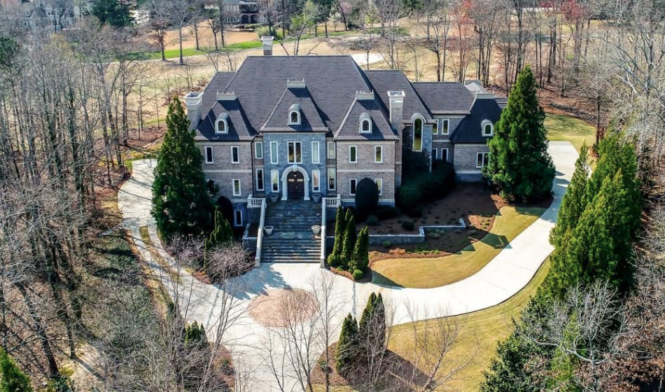 16 000 Square Foot Brick Amp Stone Mansion In Braselton