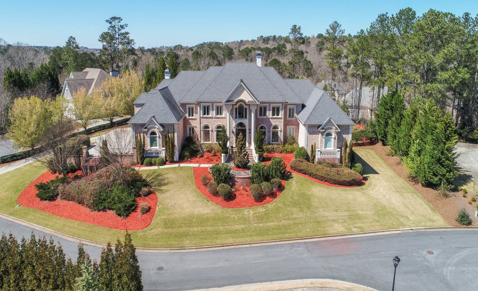 15 000 Square Foot Colonial Style Mansion In Atlanta
