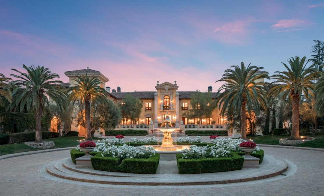 Top 25 celebrity houses for sale