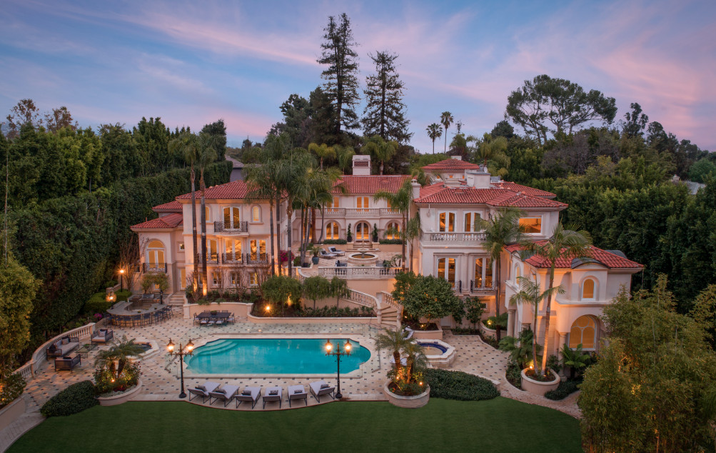 50 million mega mansion in bel air california homes of the rich for 7 bedroom house for sale in california