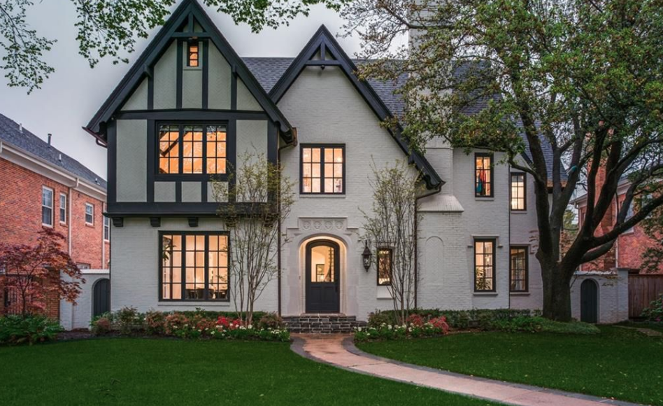 Tudor Style Brick Home In Dallas Texas Homes Of The Rich