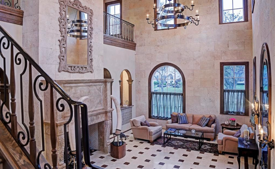 Spanish Colonial Style Home In Houston Texas Homes Of