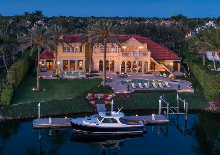 Mediterranean Style Waterfront Mansion Naples Florida