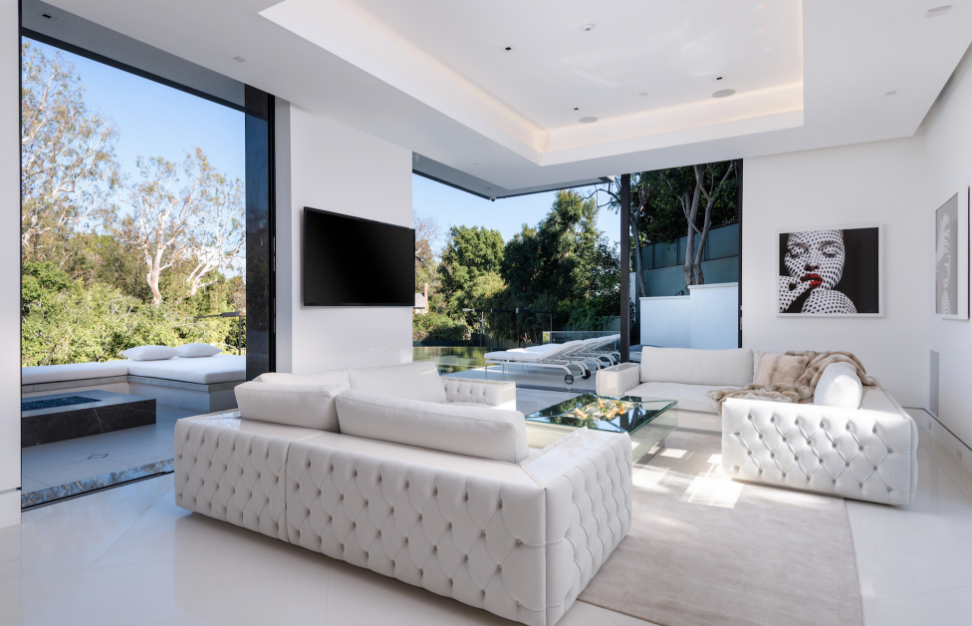 45 Million Newly Built Modern Mansion In Beverly Hills