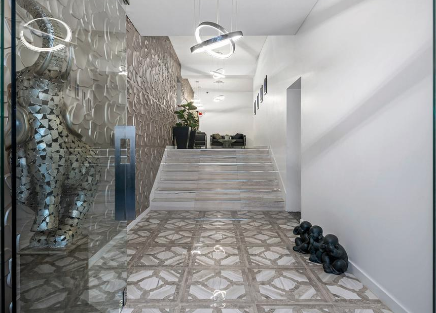 Foyer Staircase Qld : Contemporary style home in queensland australia floor