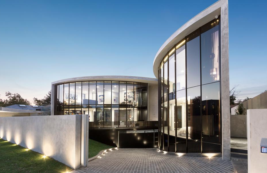 Newly Built Contemporary Style Home In Victoria, Australia ... on