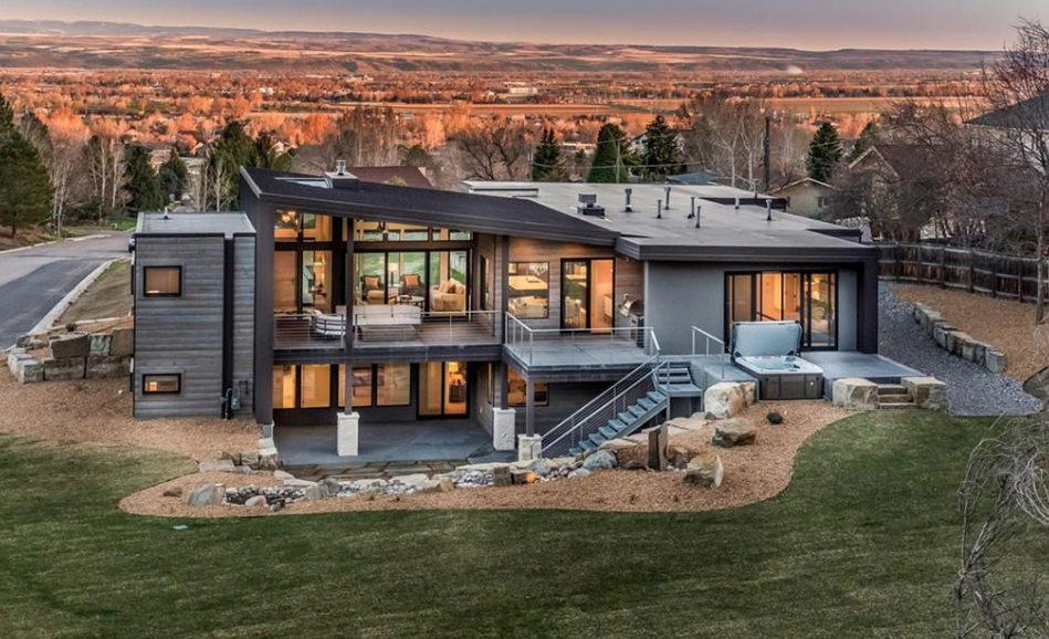Contemporary Style New Build In Billings Montana Homes