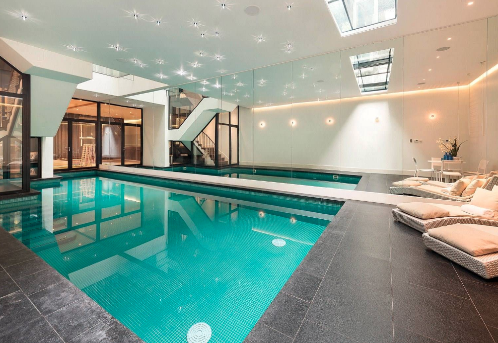 163 19 5 Million Home In London With Indoor Pool Homes Of