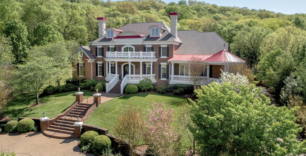 Style Home 2 995 million colonial style home in brentwood tennessee homes