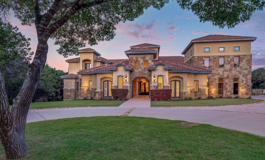 14 000 Square Foot Stone Stucco Mansion In Austin Texas Homes Of The Rich