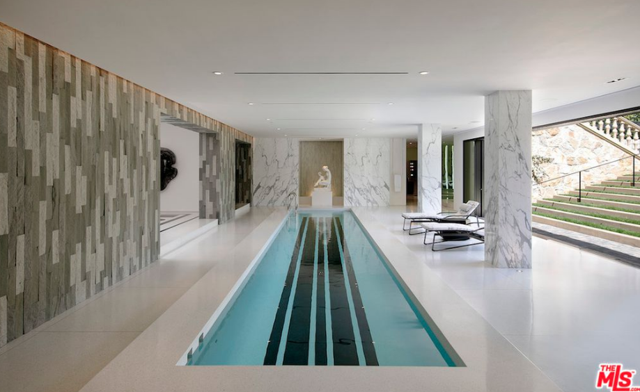 31 000 square foot mega mansion in los angeles california - Indoor swimming pools in los angeles ca ...