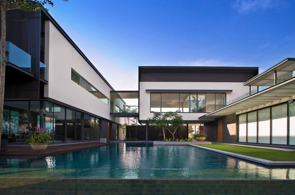 Contemporary Style Mansion In Singapore Homes Of The Rich