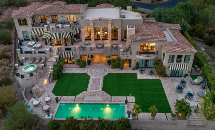 22 Million Newly Built Mansion In Paradise Valley
