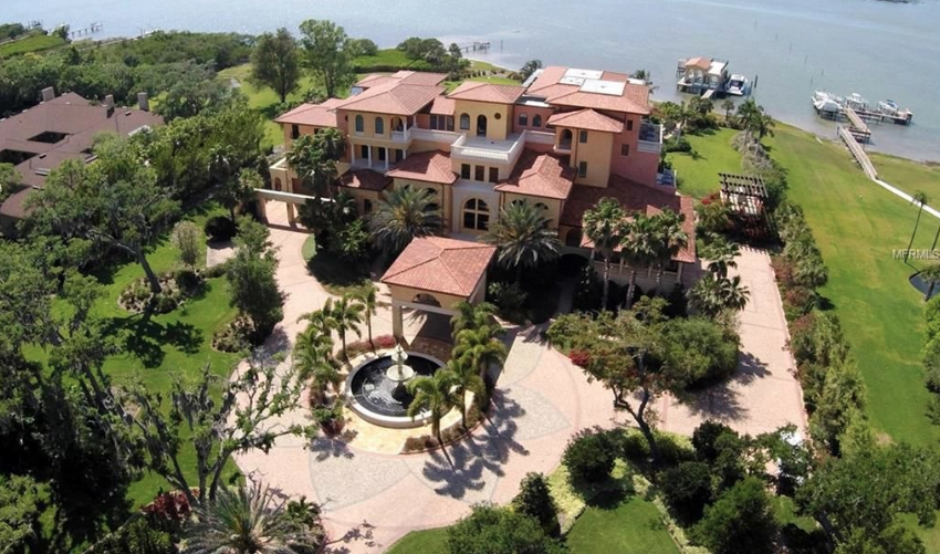 Fantastic 4 Story Waterfront Mansion In Largo Florida Homes Of The Rich Download Free Architecture Designs Scobabritishbridgeorg