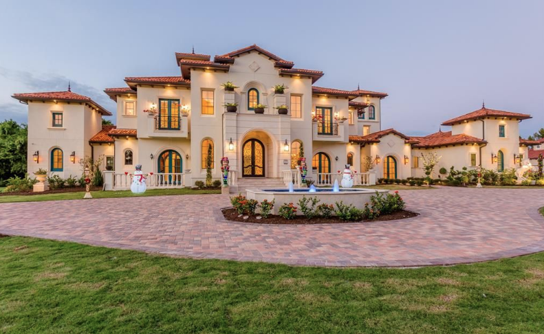Mediterranean Style New Build In Sugar Land, Texas | Homes of the Rich