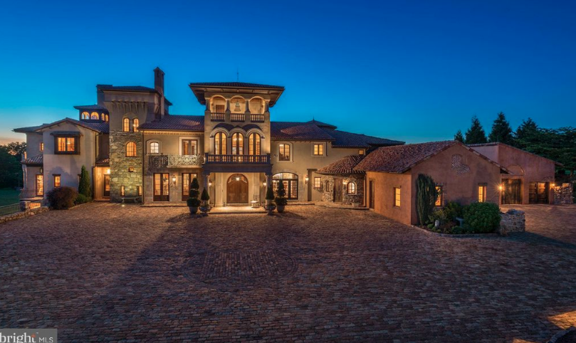 30 000 Square Foot Italian Inspired Mega Mansion In