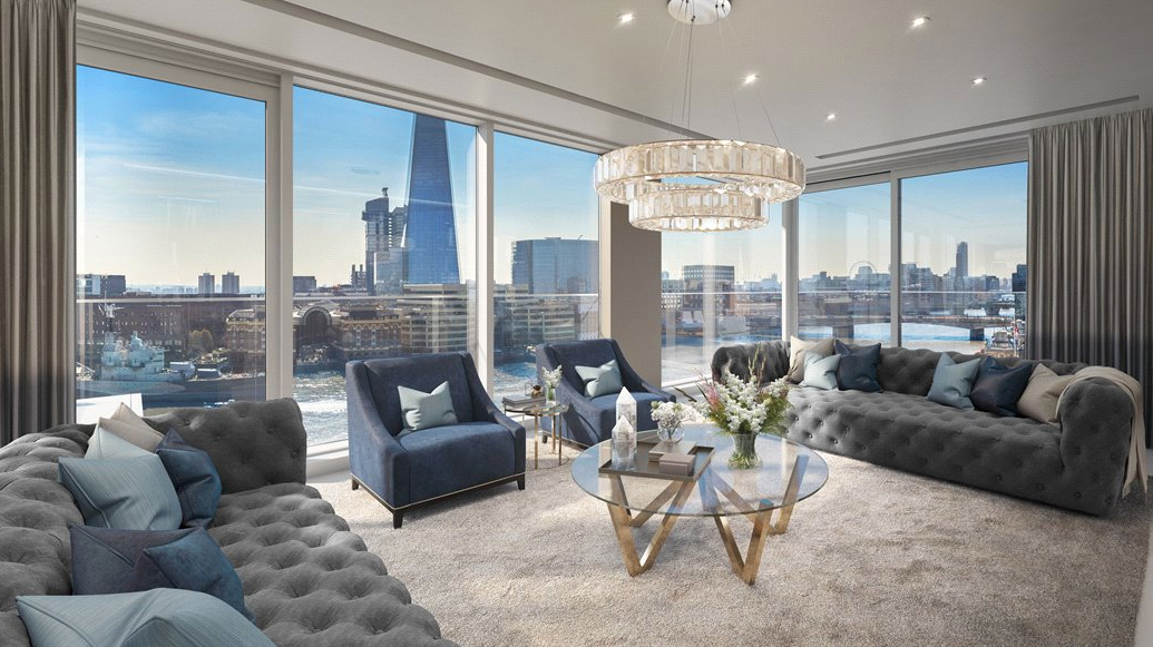 £9.975 Million Luxury Penthouse In London, England (FLOOR ...