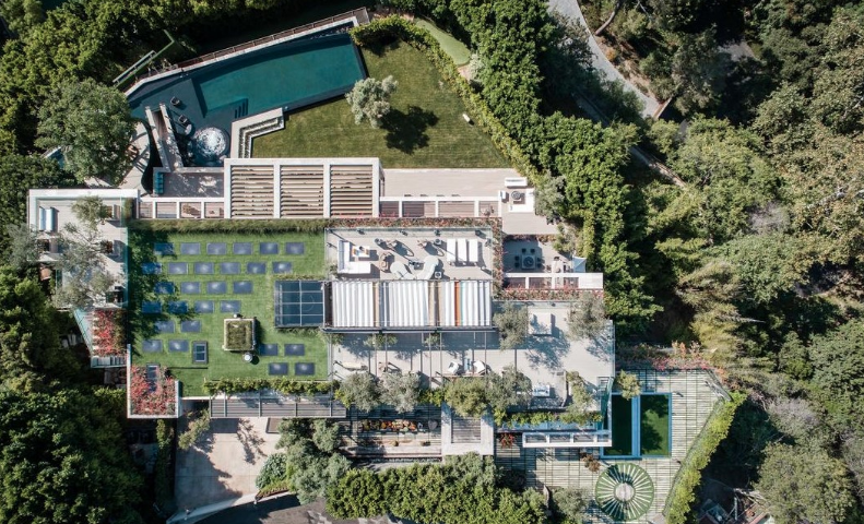 Star Of Texas >> $88 Million Newly Built Modern Mega Mansion In Bel Air, California | Homes of the Rich