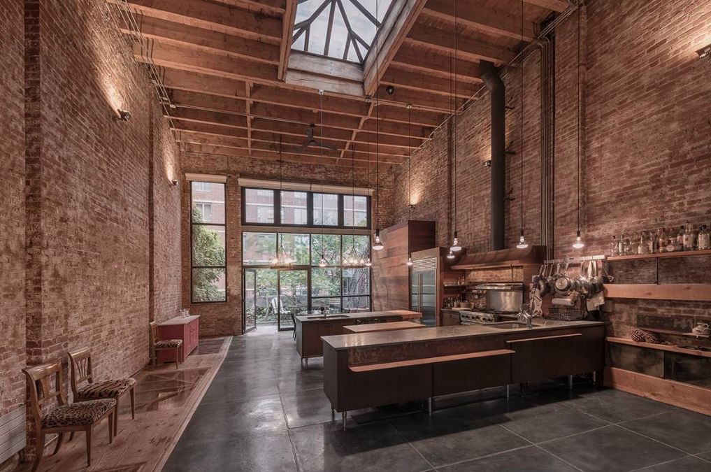 Million Converted Warehouse Townhouse Nyc Floor