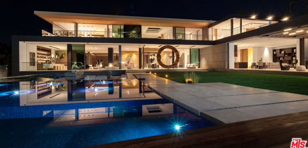 48 Million Modern New Build In Los Angeles California