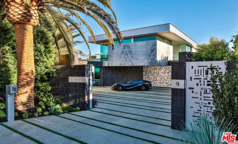 52 Million Modern New Build In Los Angeles California Homes Of The Rich
