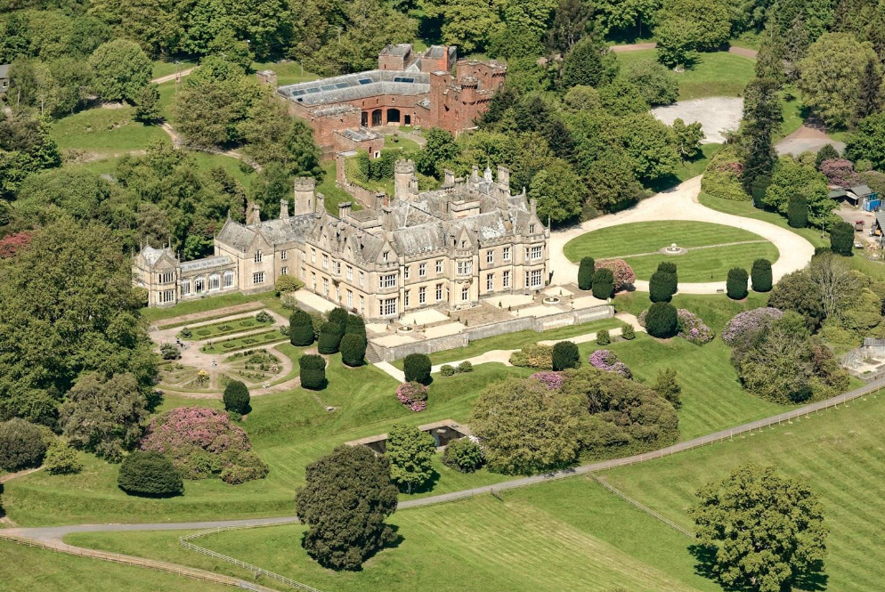 historic 164 acre estate in exeter  england