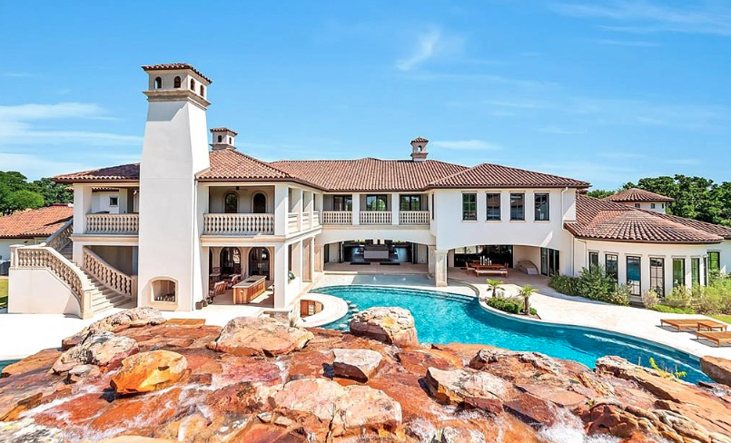 10 Acre Estate In Keller Texas With Resort Style Pool