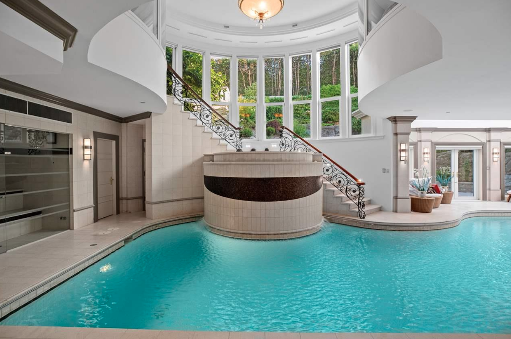 $32 Million Vancouver Home With Indoor Pool
