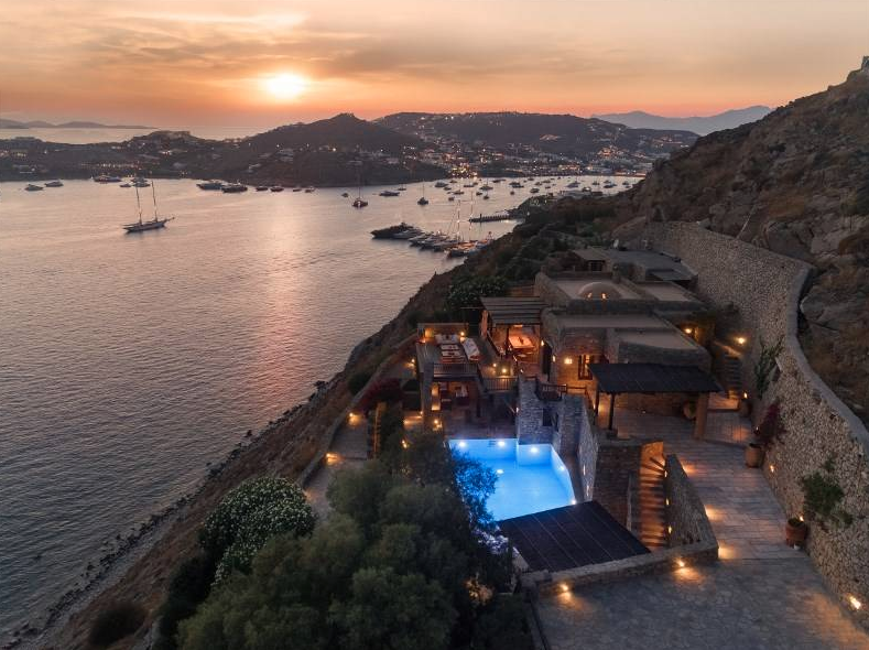 €10.5 Million Hillside Home In Mykonos, Greece