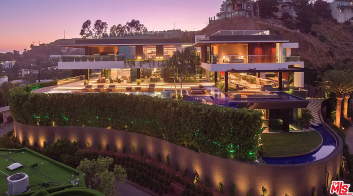 43 Million Contemporary New Build In Los Angeles