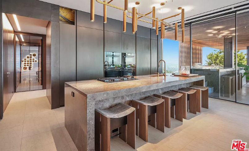43 Million Contemporary New Build In Los Angeles California Homes Of The Rich