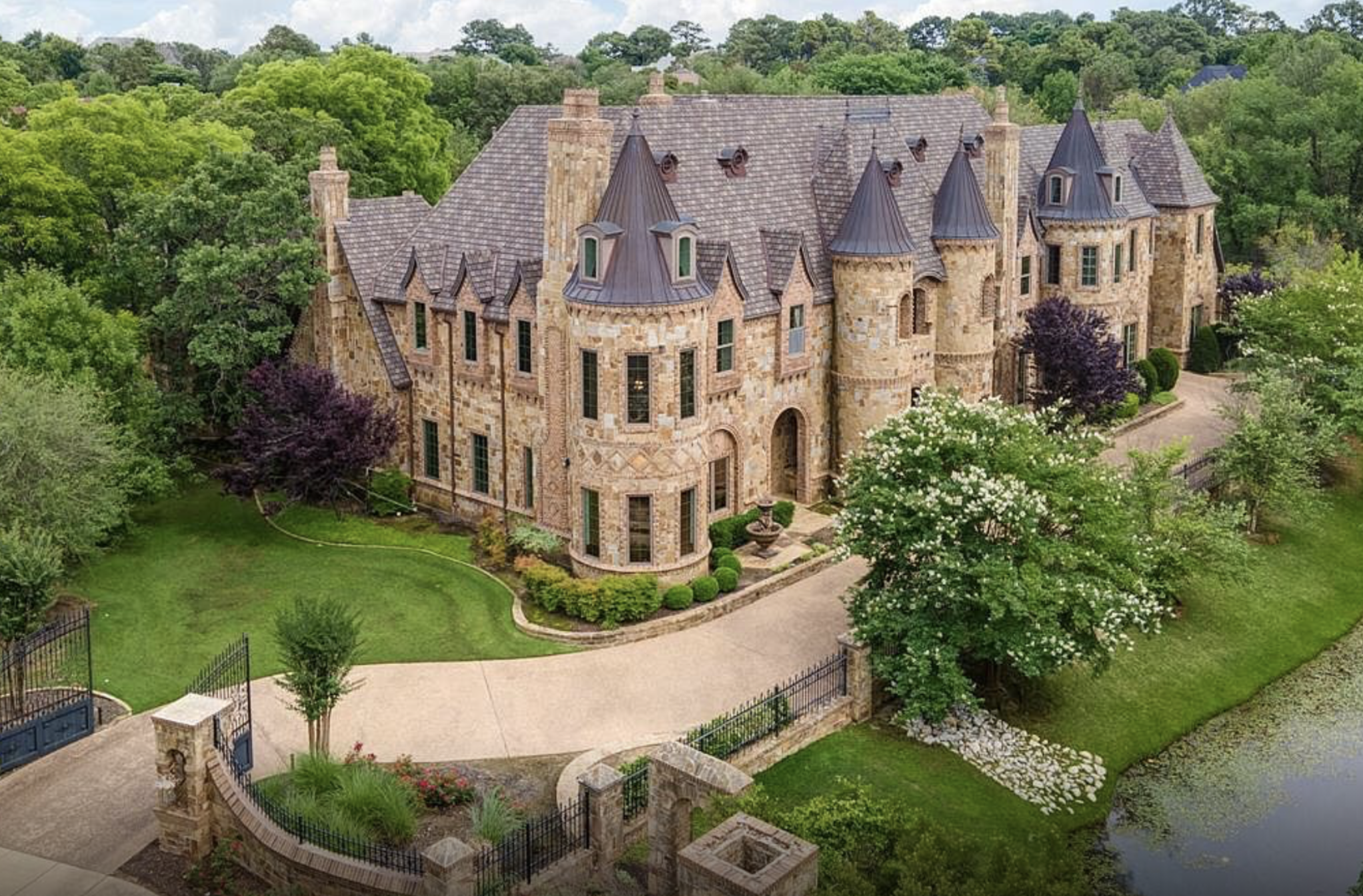 $5 Million Stone & Brick Estate In Southlake, Texas | Homes of the Rich