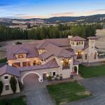 Tuscan Style Home On 15 Acres In Spokane, Washington