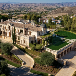 $30 Million Italianate Style Estate In Calabasas, California (PHOTOS)
