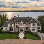 Lakefront Home In Windermere, Florida With 7-Car Subterranean Garage